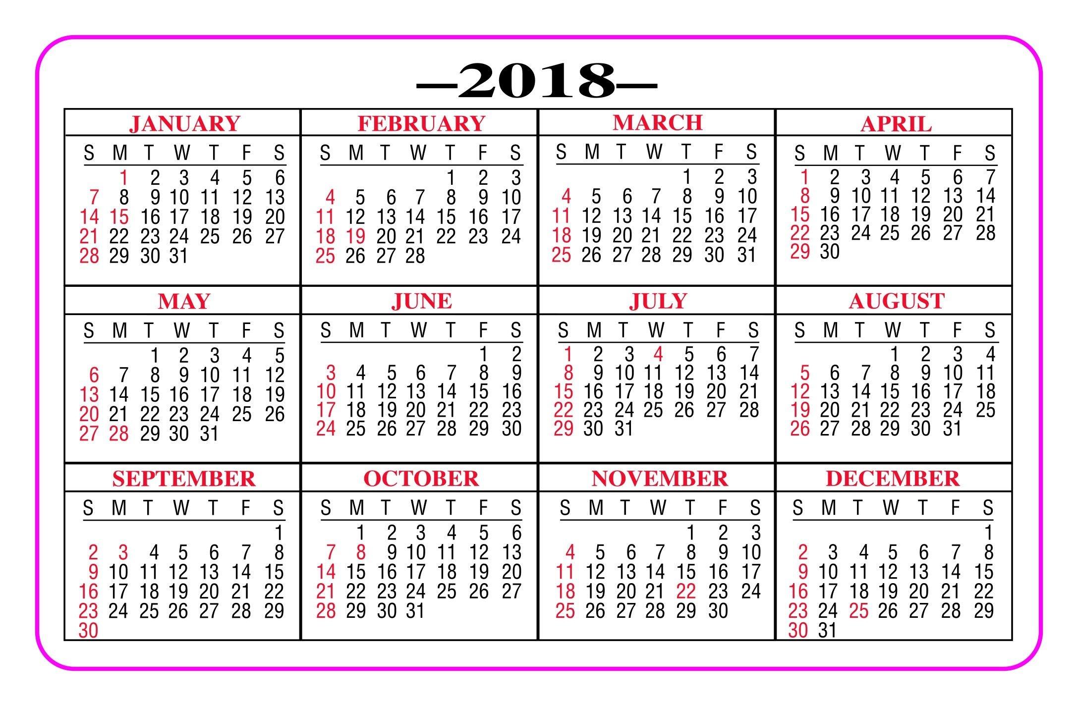 Best Of Printable Wallet Size Calendar | Free Printable