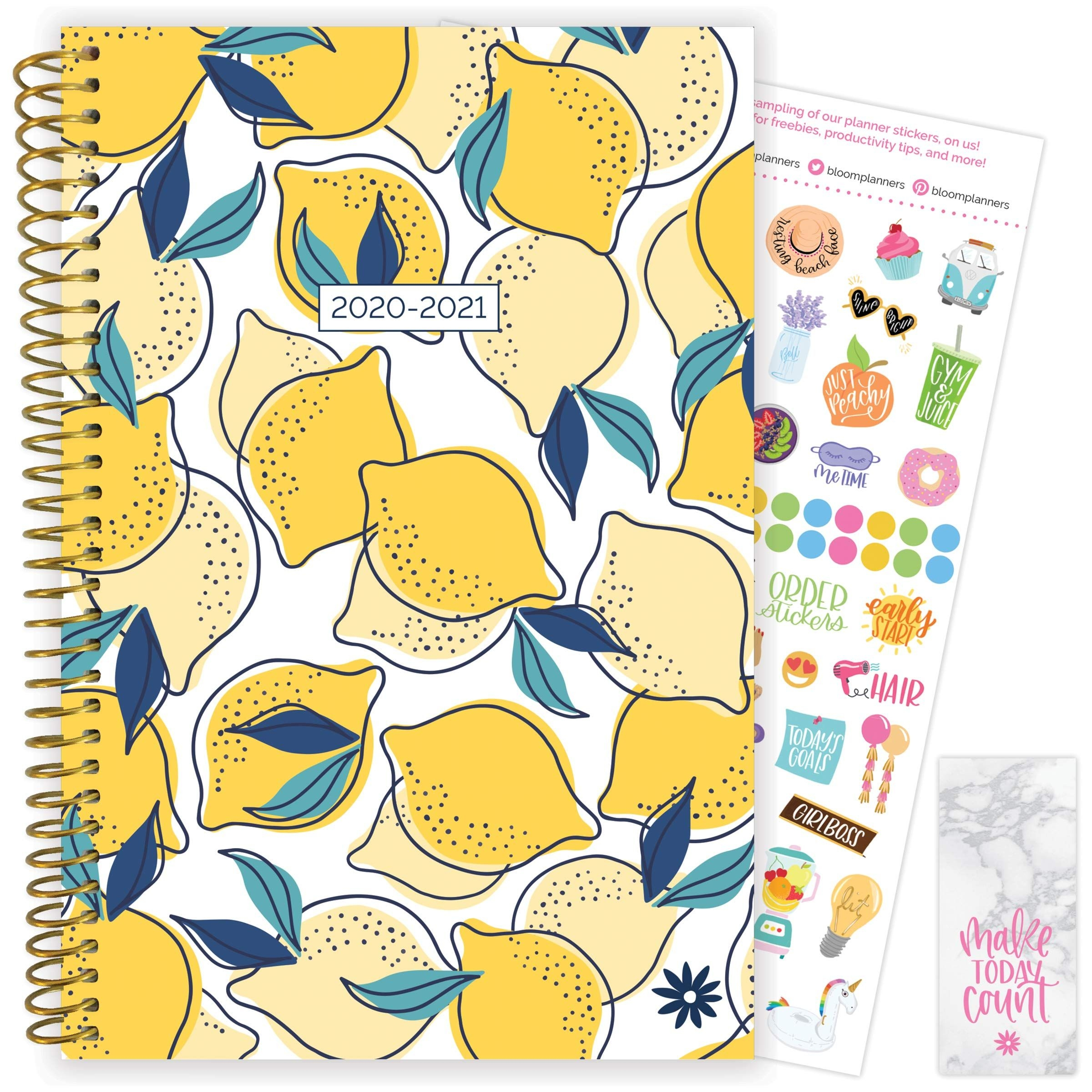 Bloom Daily Planners 2020-2021 Academic Year Day Planner
