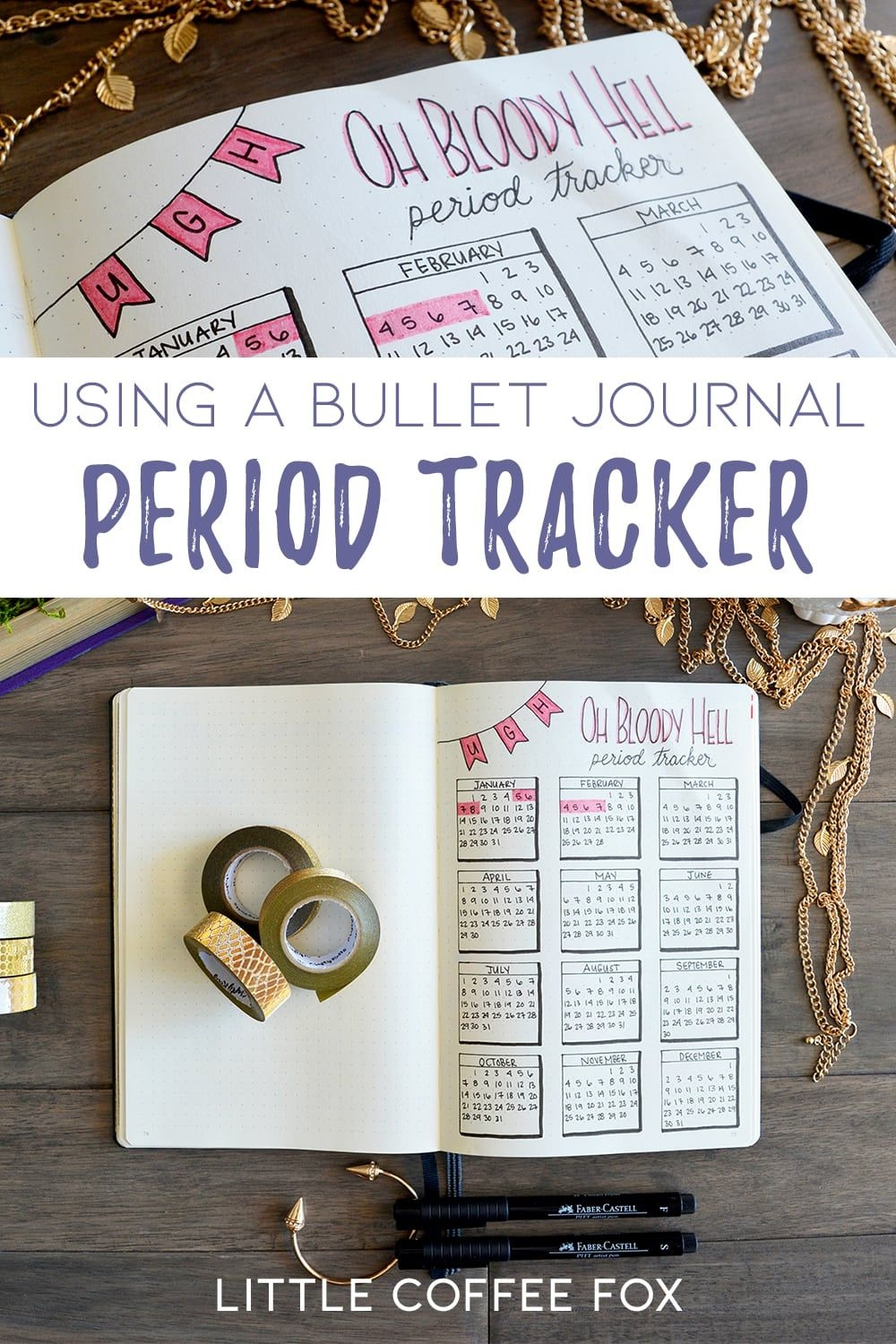 Bullet Journal Period Tracker: The Benefits Of Tracking Your