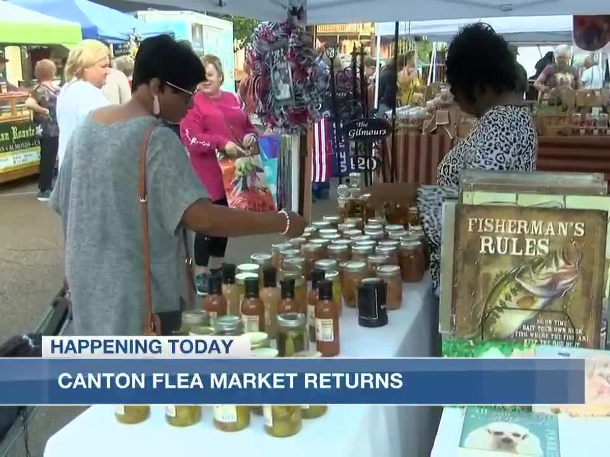 Canton Flea Market Returns Oct. 8