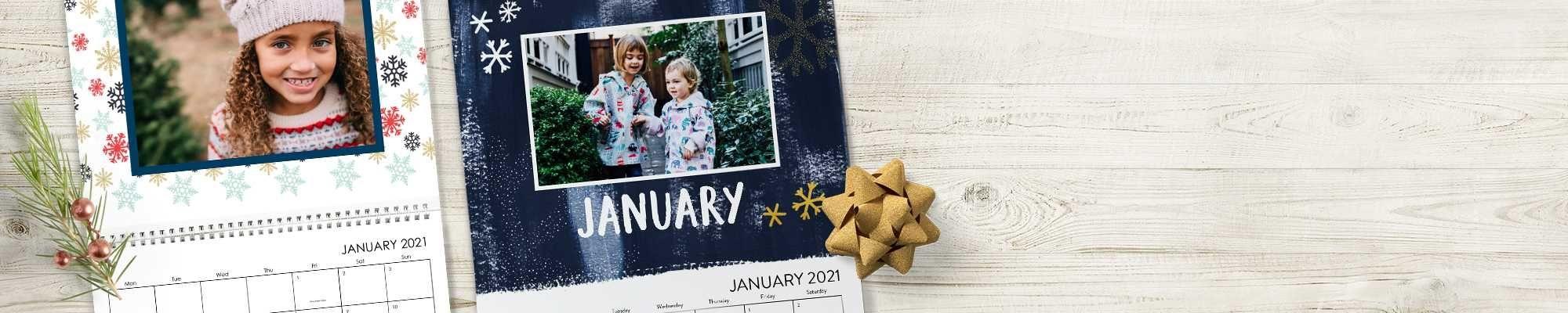 Compare Personalized Photo Wall & Desktop Calendars