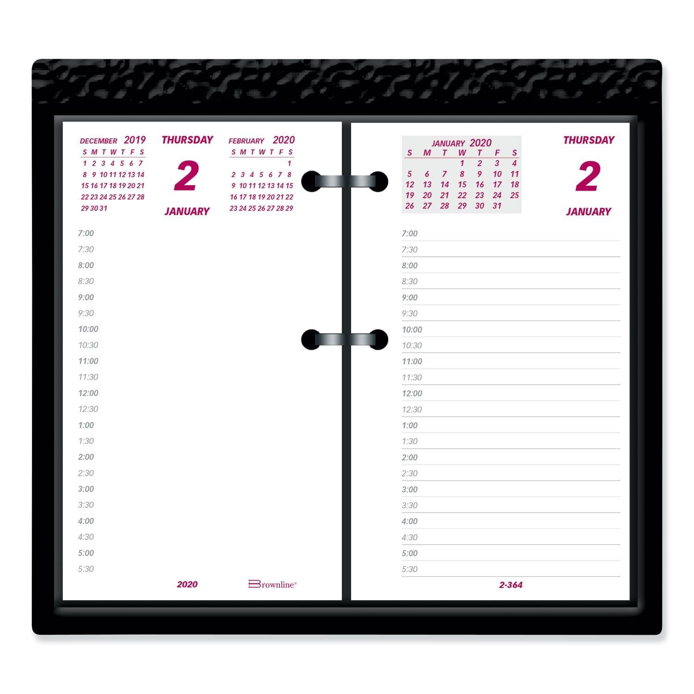 Daily Calendar Pad Refill, 6 X 3.5, 2021