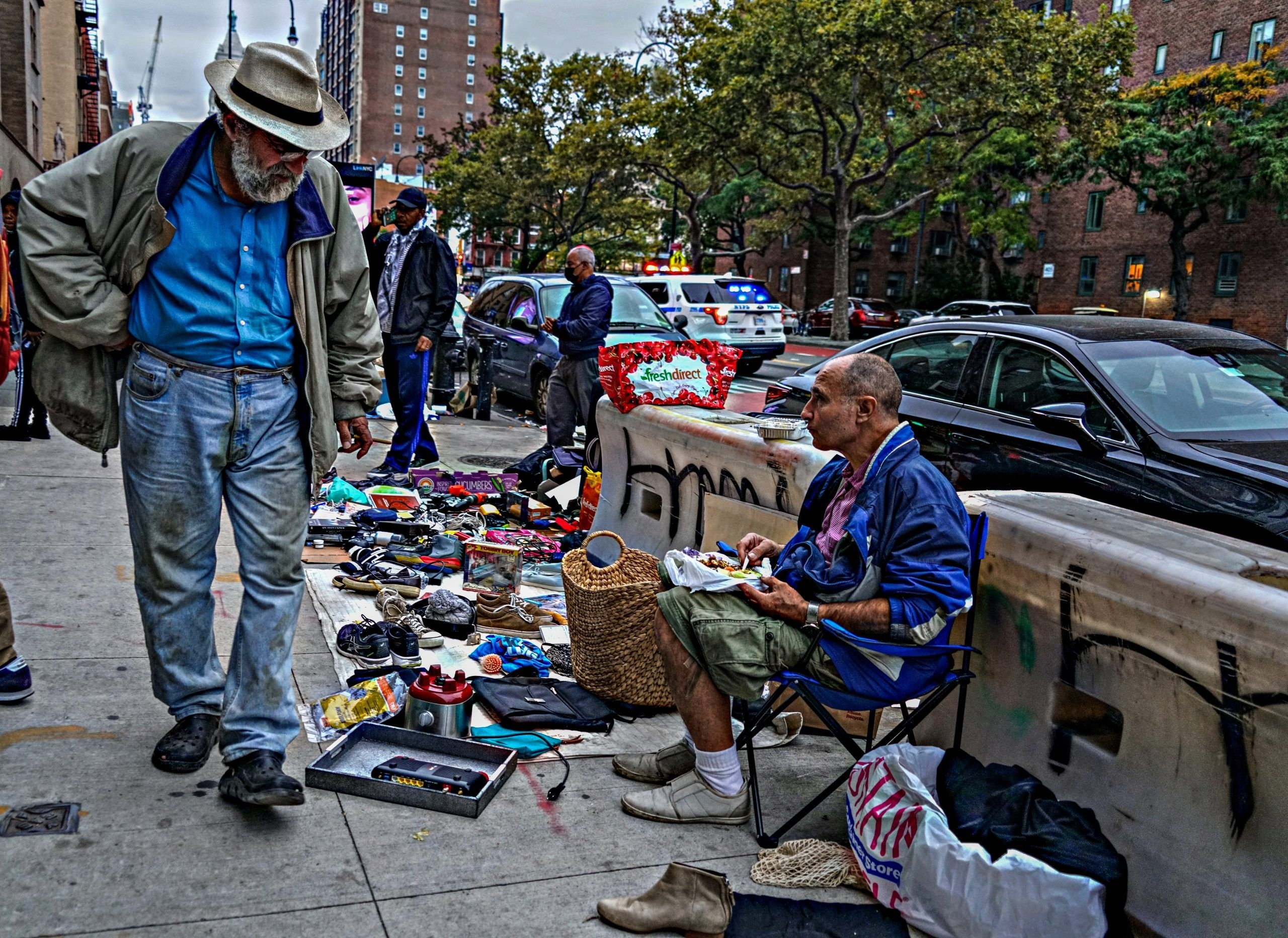 Drug-Fueled Peddlers In East Village Create Block-Long Flea