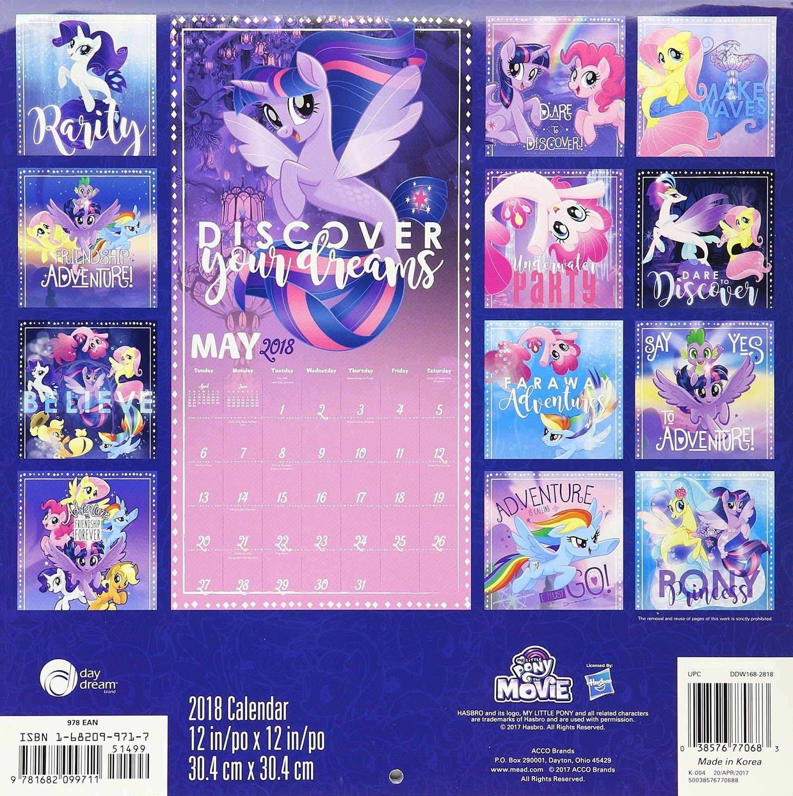 Equestria Daily - Mlp Stuff!: My Little Pony: The Movie Wall