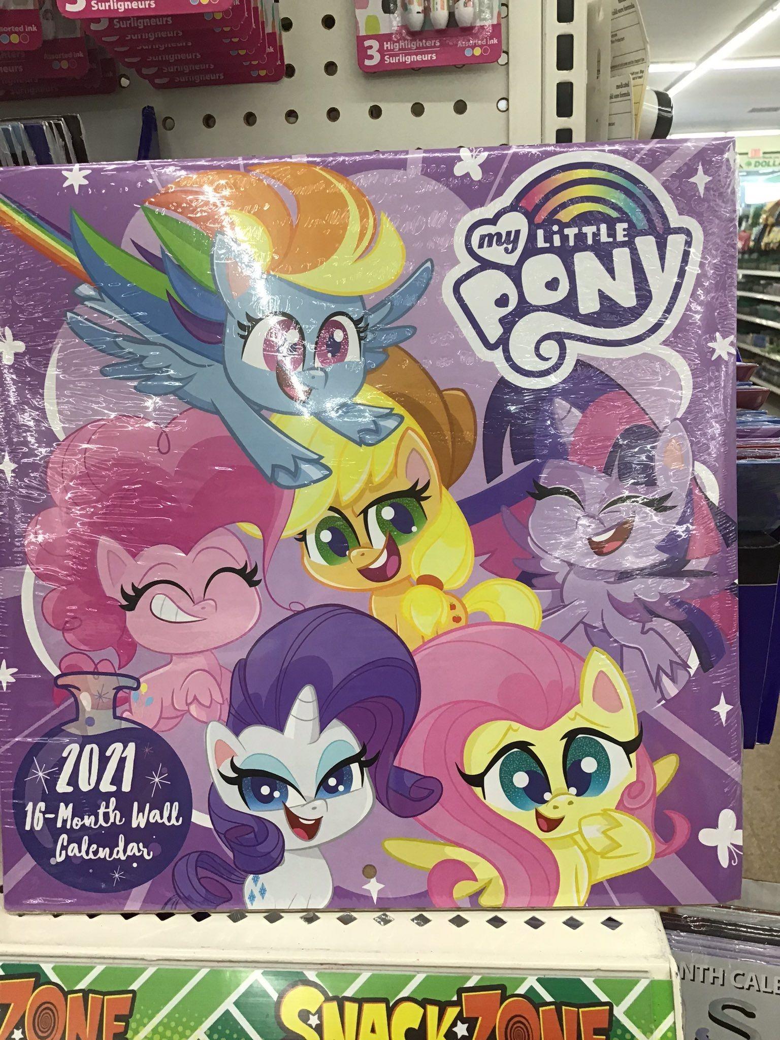 Equestria Daily - Mlp Stuff!: New Pony Life 2021 Calendar