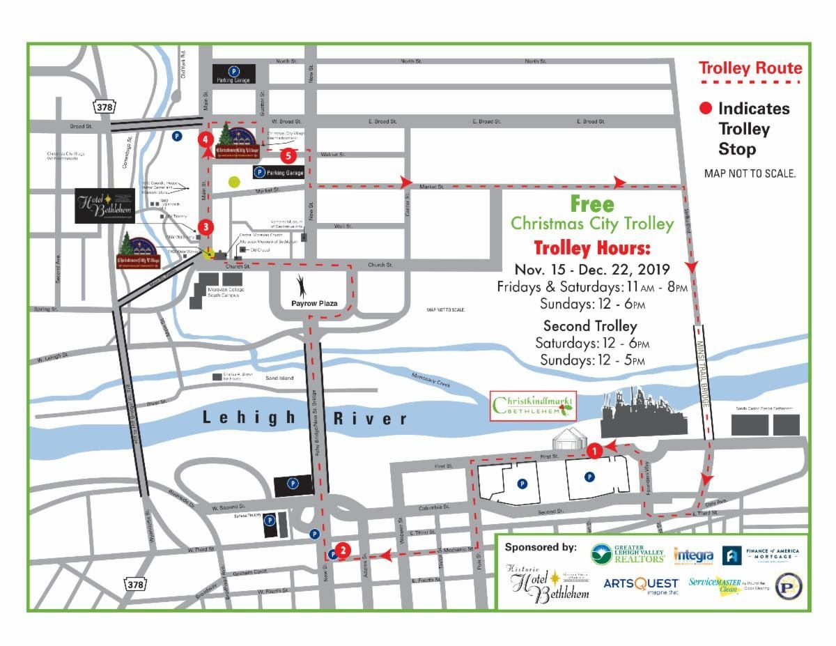 Free Christmas City Trolley To Run Through The Holidays