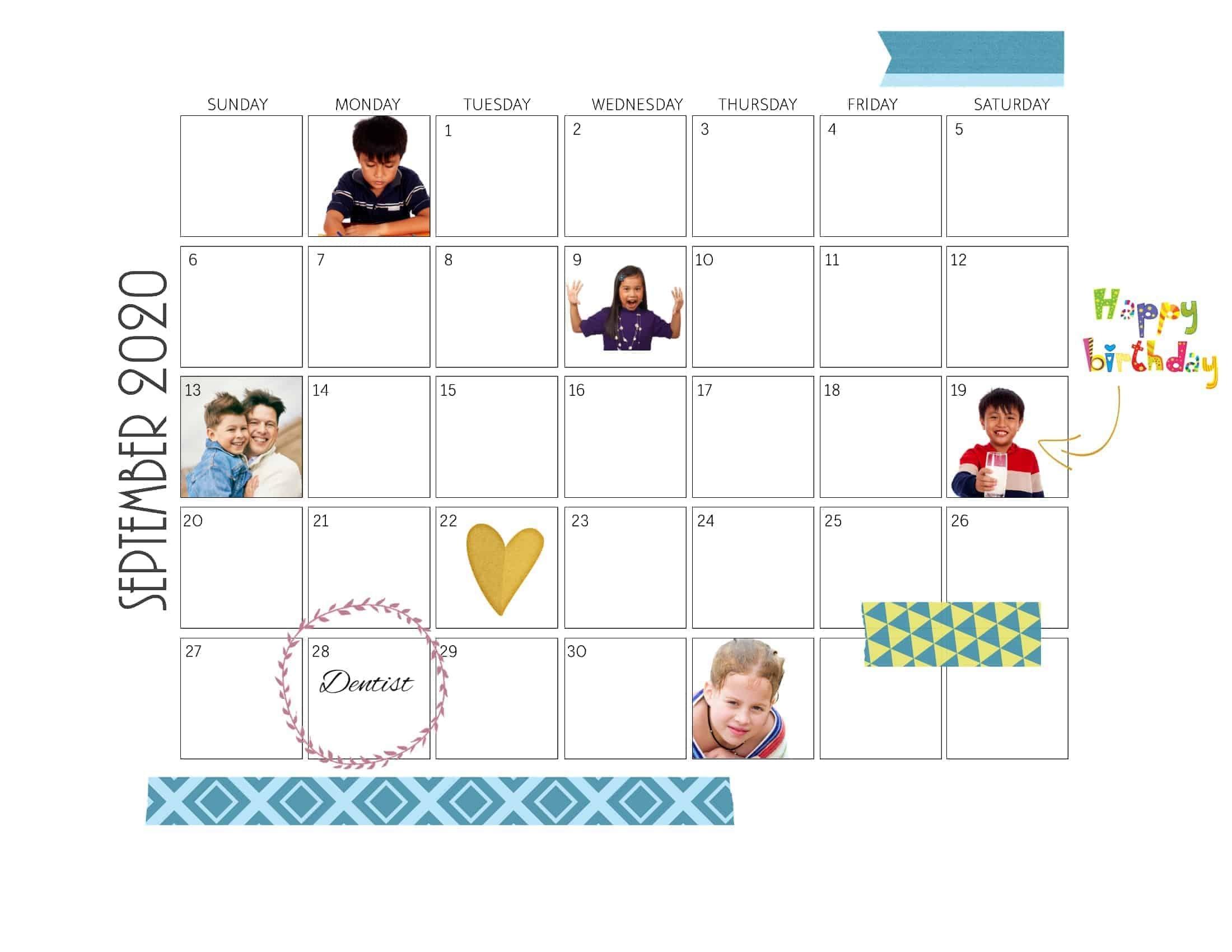 Free Photo Calendars