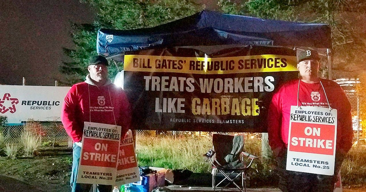 Garbage Service Missed Two Days Because Of Strike | Kent