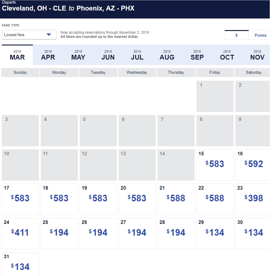 It'S Back From 12/5-3/8] Southwest Has The Most Generous