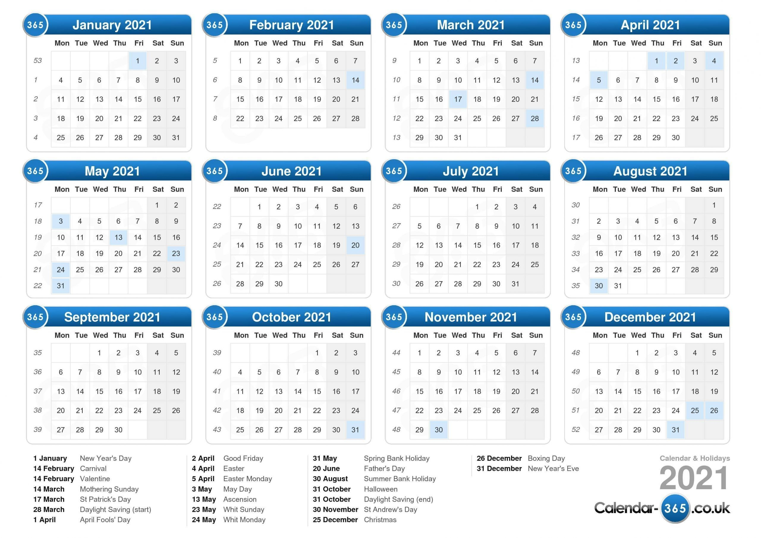 January February 2021 Calendar Uk In 2020   Printable