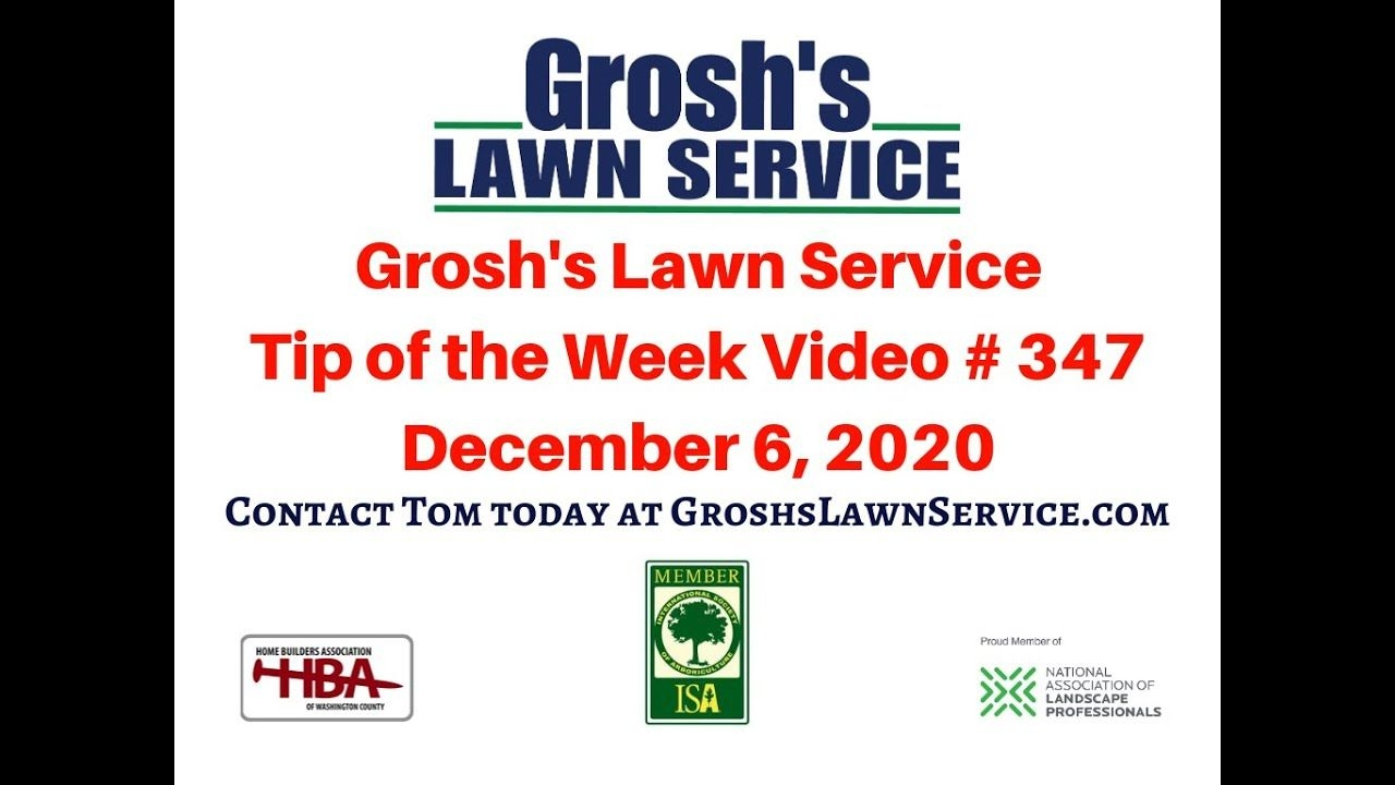 Lawn Mowing Service | Landscaping | Groshs Lawn Service