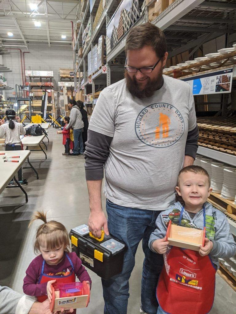 Lowe'S Diy Kids Workshop, 2Nd Saturdays - Howard County Dads