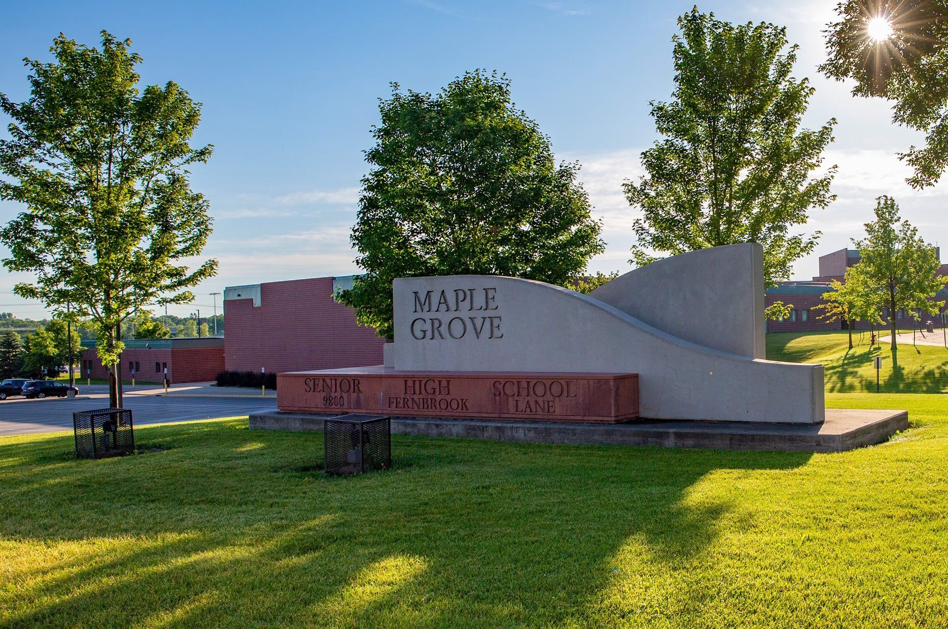Maple Grove Senior High School - Maple Grove Senior High School