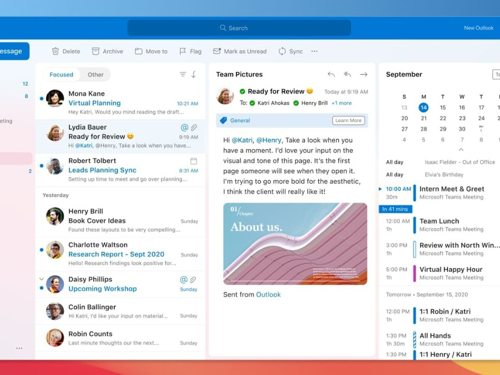 Microsoft Announces Outlook For Mac Redesign, Improvements
