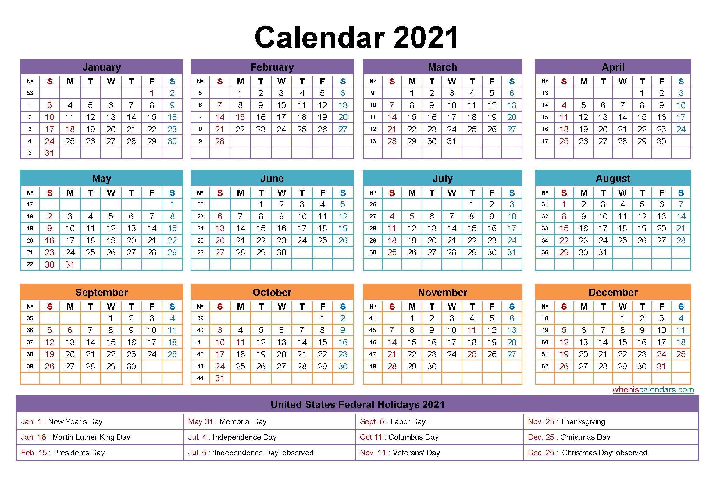 Mini Desk Calendar 2021 Free Printable – Free Printable 2020
