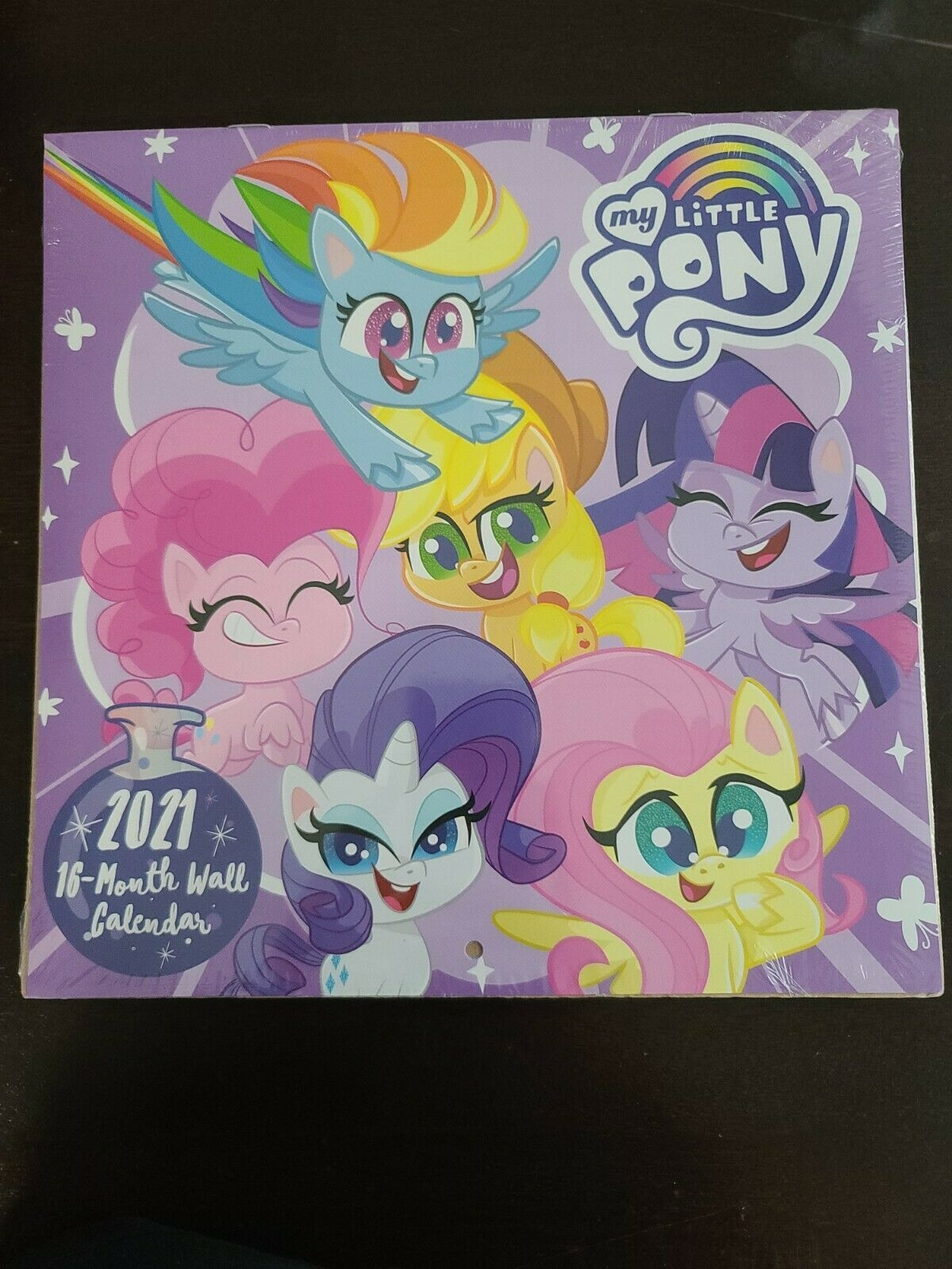 My Little Pony Wall Calendar 2021 - 16 Month - New Sealed Retro Classic  Style