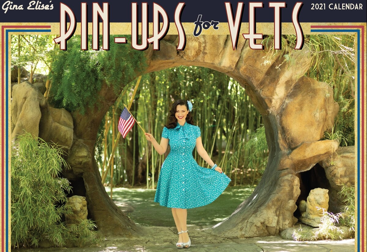 Pin-Ups For Vets Releases 2021 Calendar To Raise Money For