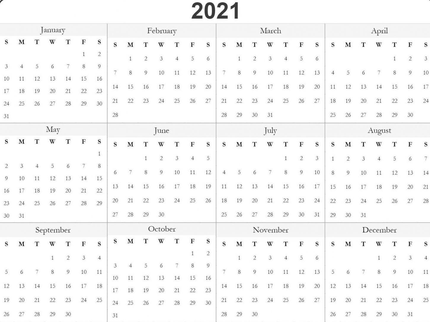 Printable 2021 Julian Date Calendar In 2020 | Free Printable
