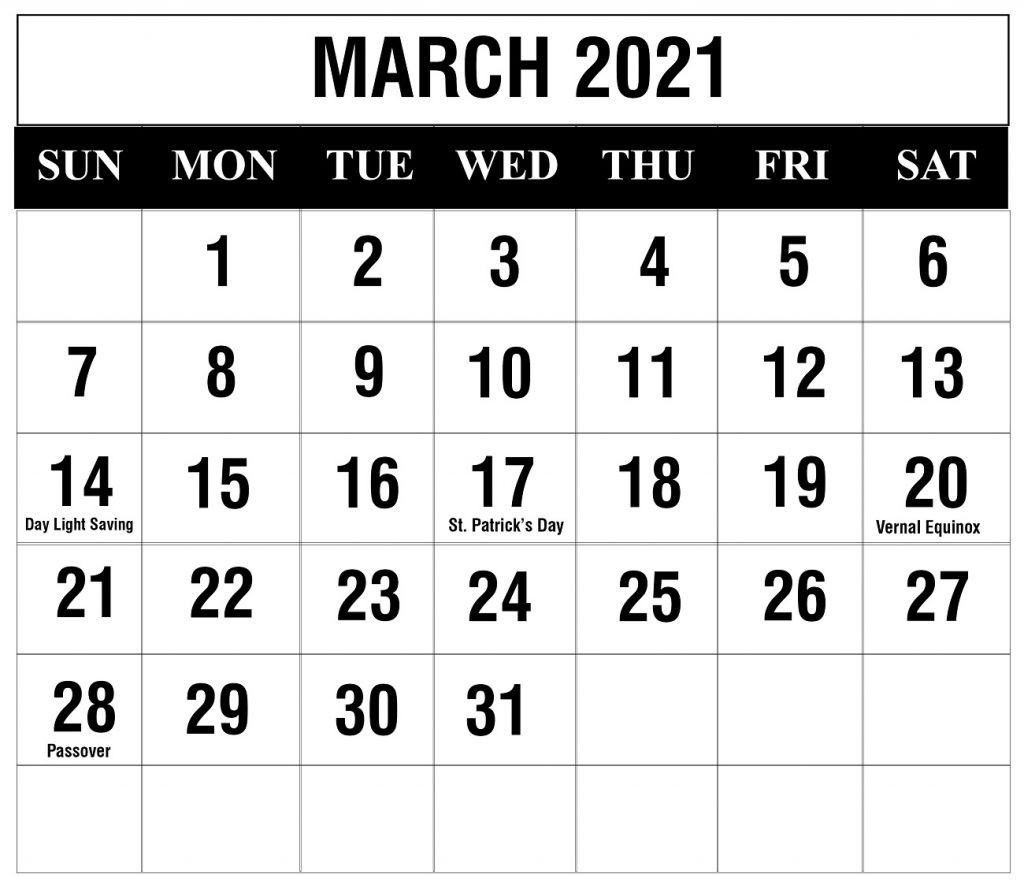 Printable Calendar 2021 February March April In 2020