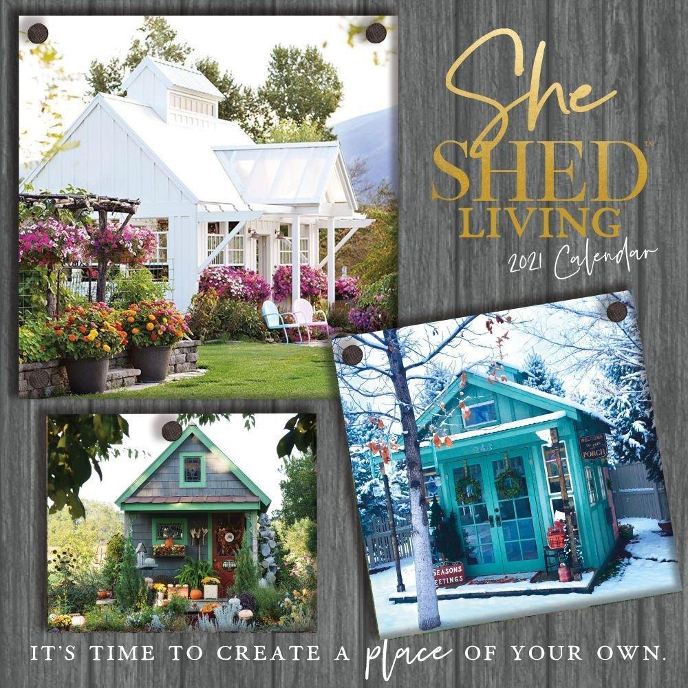 She Shed Living Wall Calendar - Walmart - Walmart