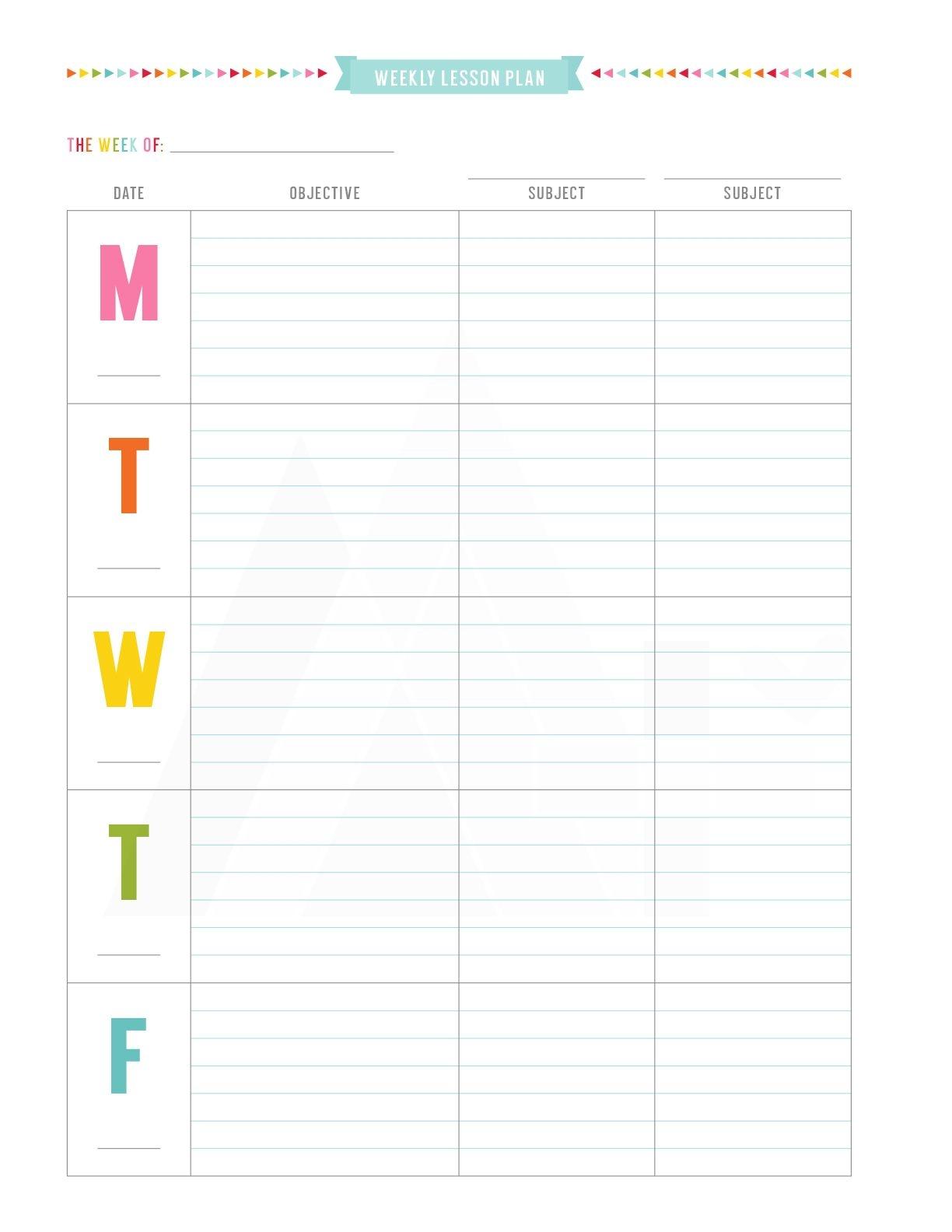 Teacher Planner – Misstiina
