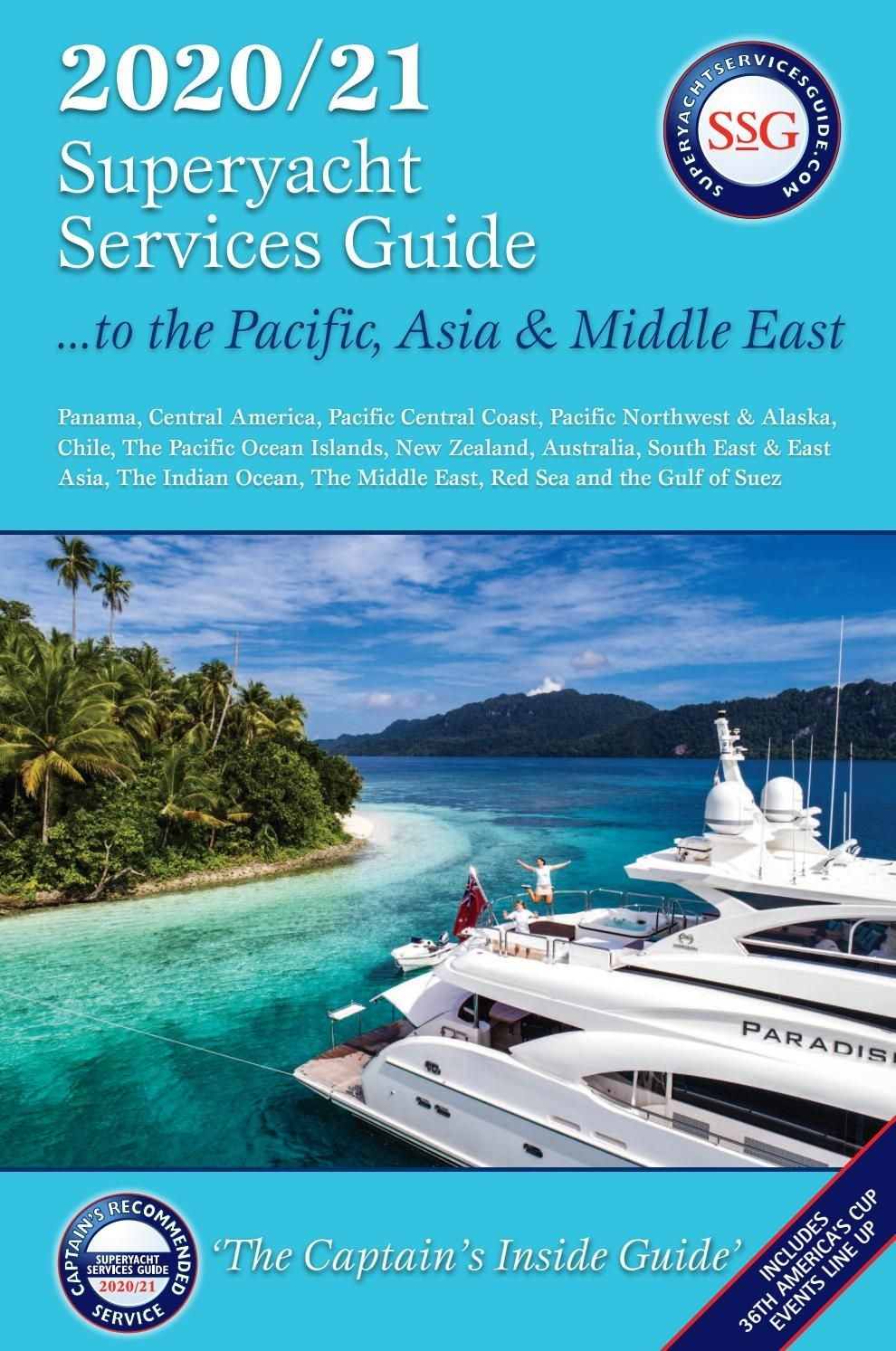 The 2020/2021 Superyacht Services Guide To The Pacific, Asia