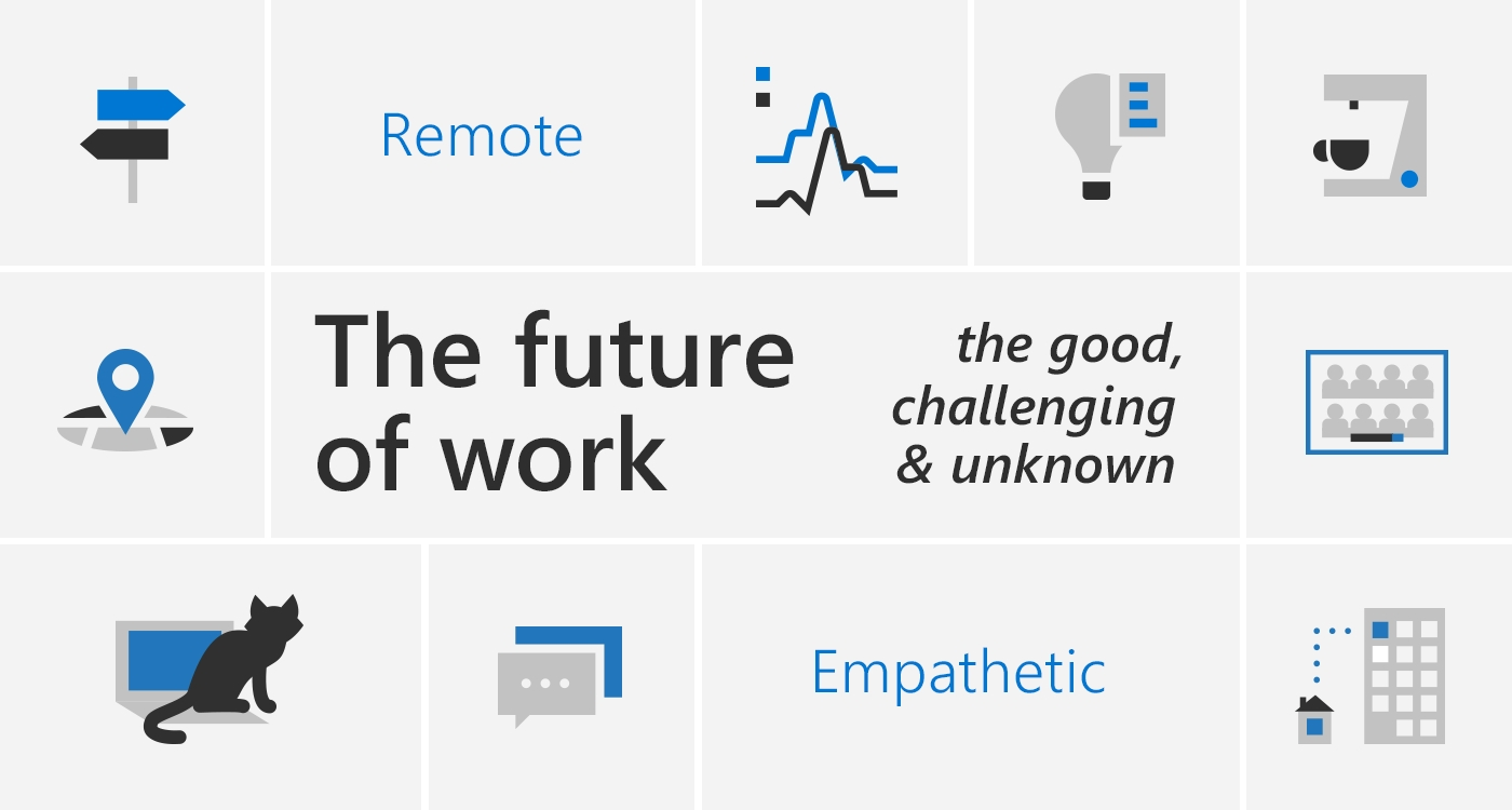 The Future Of Work—The Good, The Challenging & The Unknown