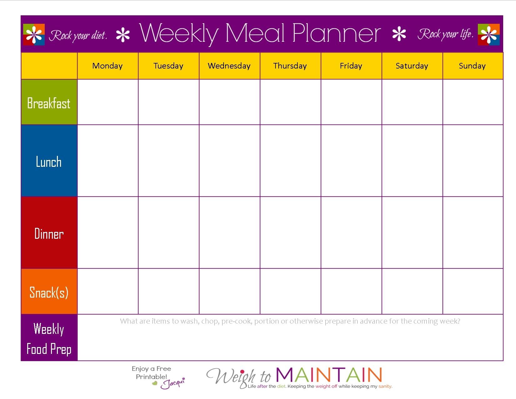 Unique Diet Calendar Printable | Free Printable Calendar Monthly