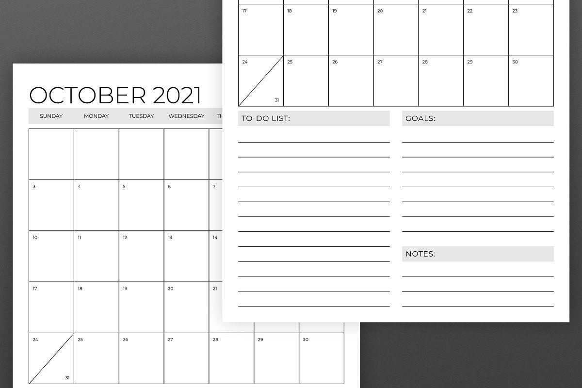 Vertical 11 X 17 Inch 2021 Calendar In 2020 | Calendar