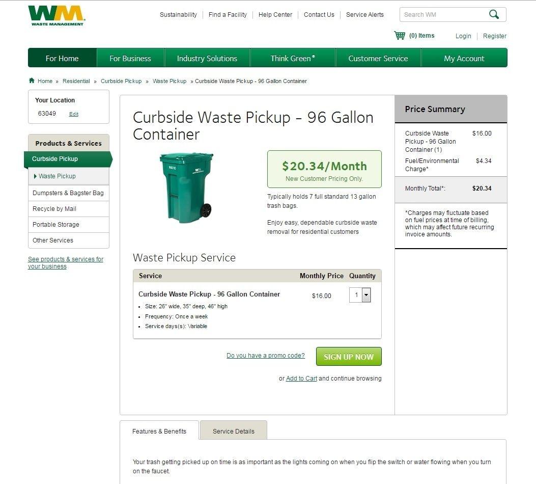 Waste Management - Cape Town Village South