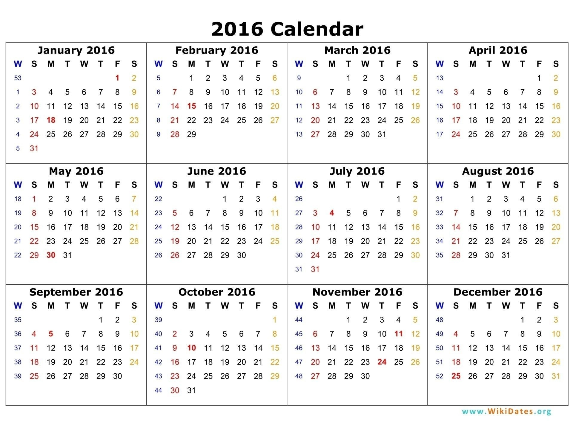 Year Calendar Time And Date In 2020   12 Month Calendar