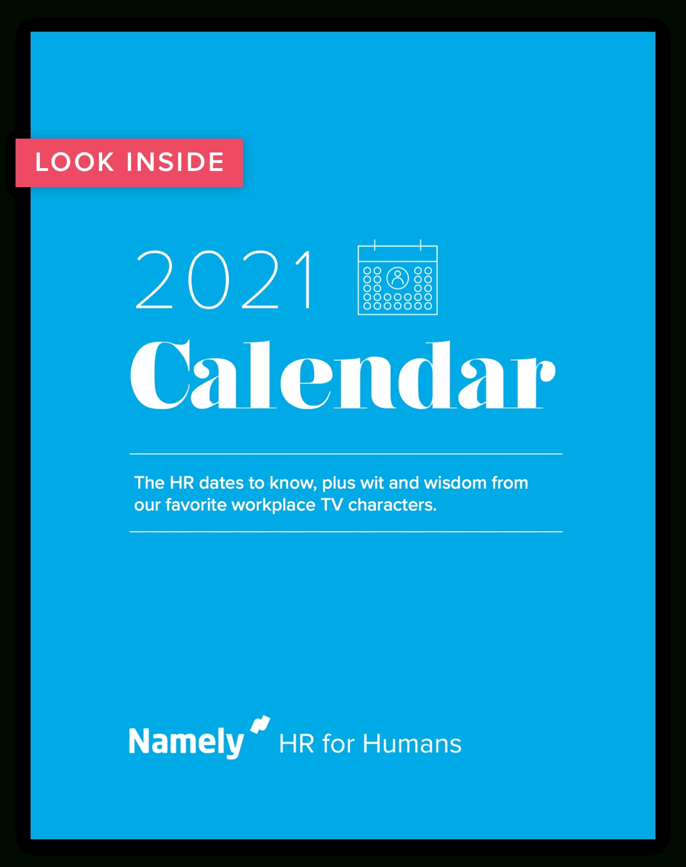 Your 2021 Hr Calendar
