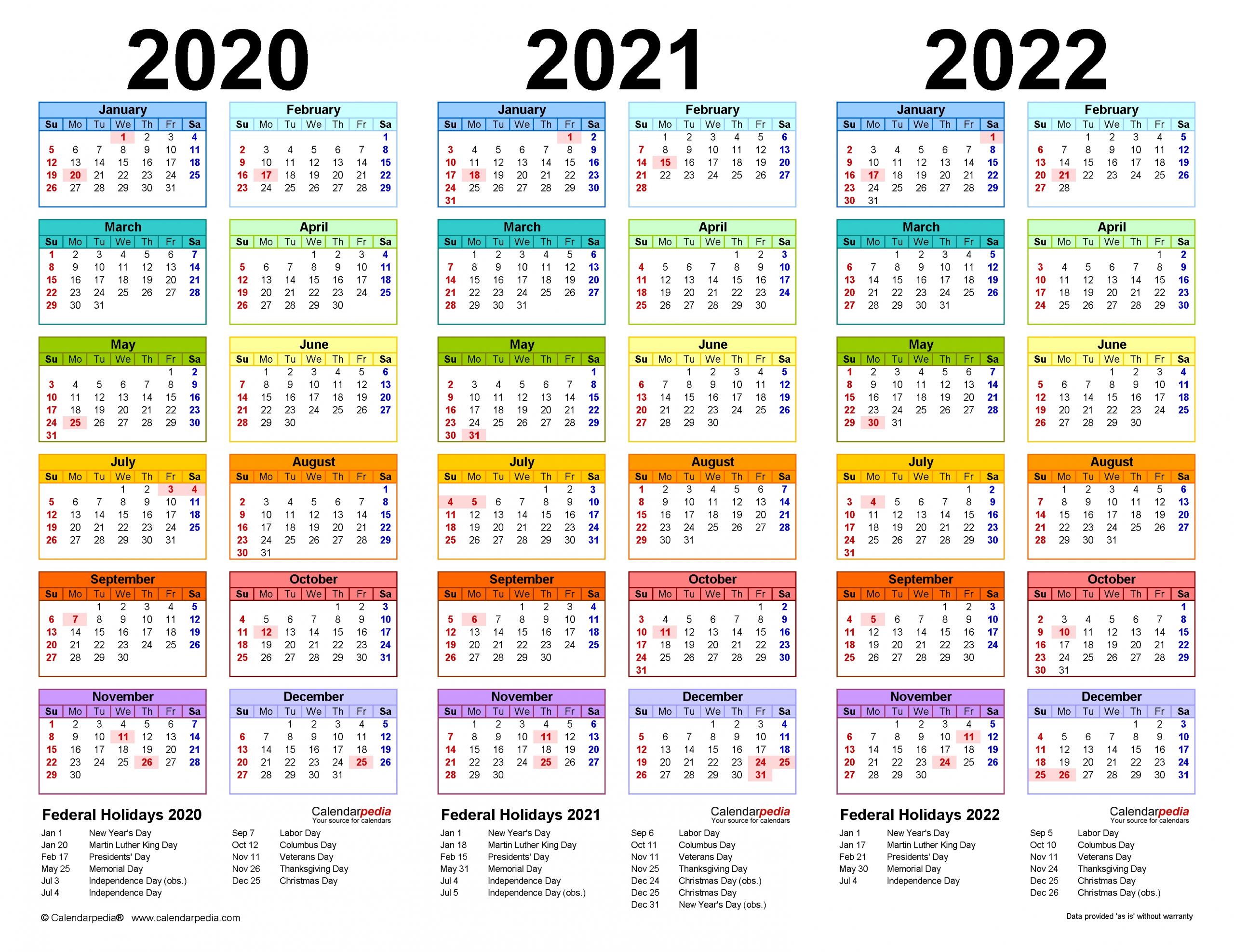 20+ Large Print Calendar 2021 Canada - Free Download