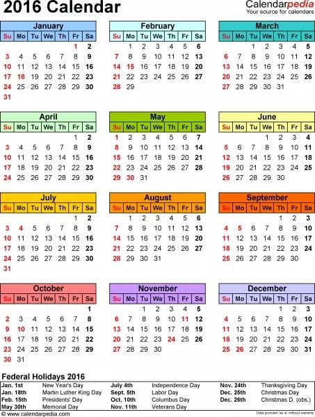 Calendar Wizard Free Templates | Printable Calendar
