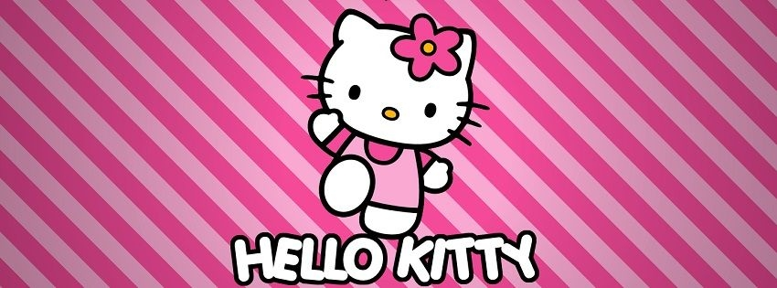 Facebook Covers - Hello Kitty Facebook Cover Pink - Hipi