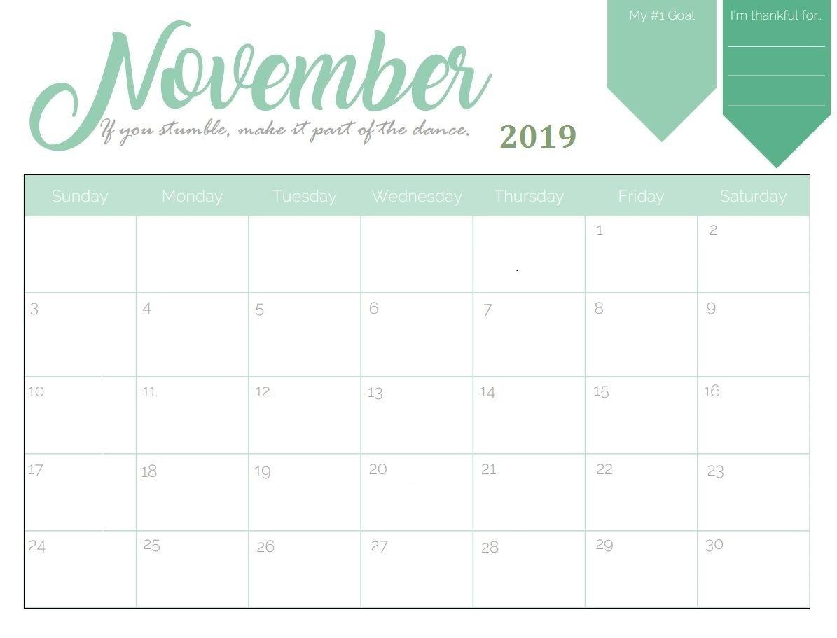 Free Printable Calendar Editable | Ten Free Printable