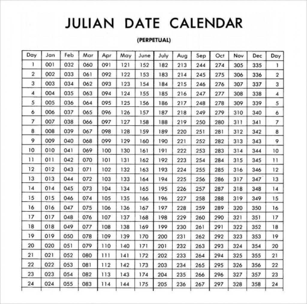 Get 2021 Julian Date Calendar - Best Calendar Example