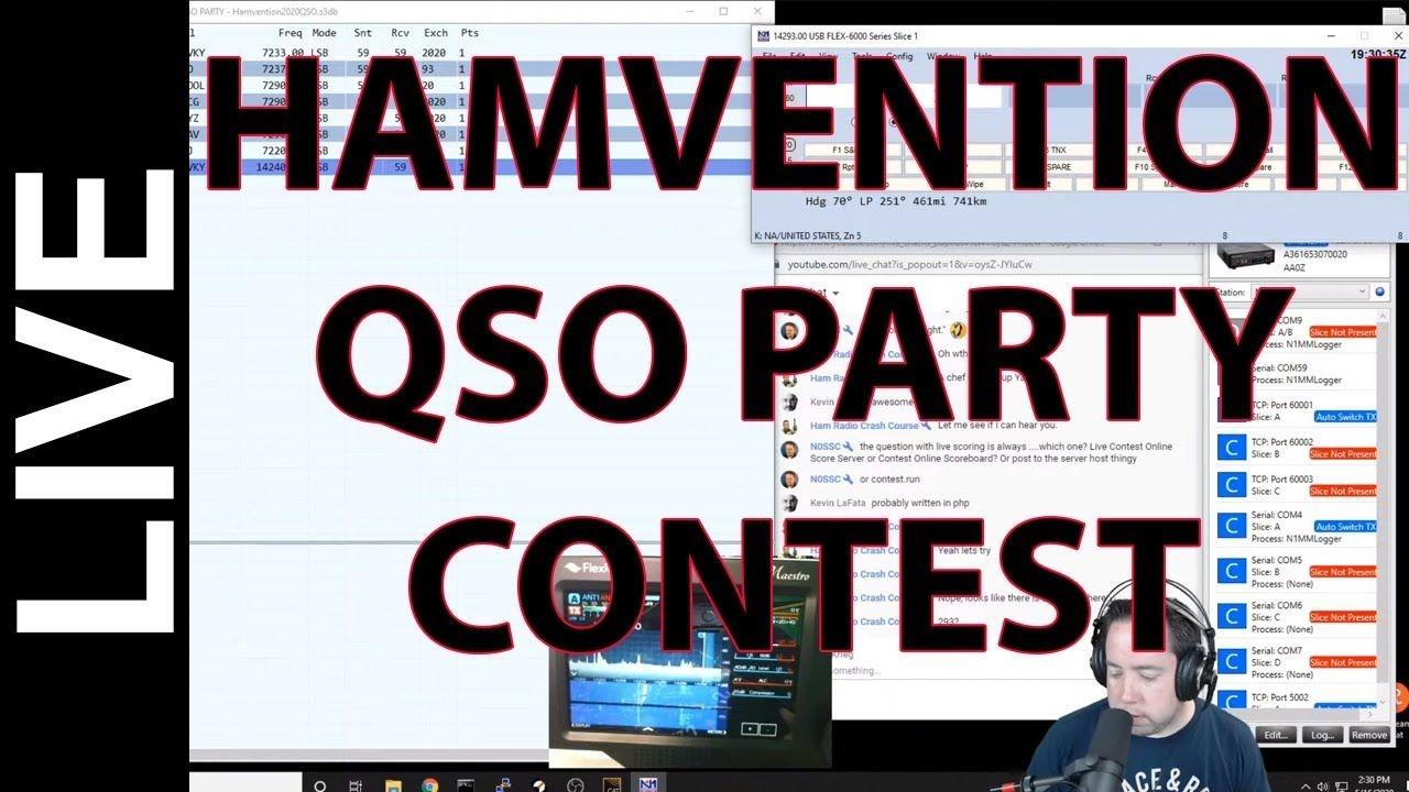Ham Radio Contesting - Hamvention Qso Party 2020 - Youtube