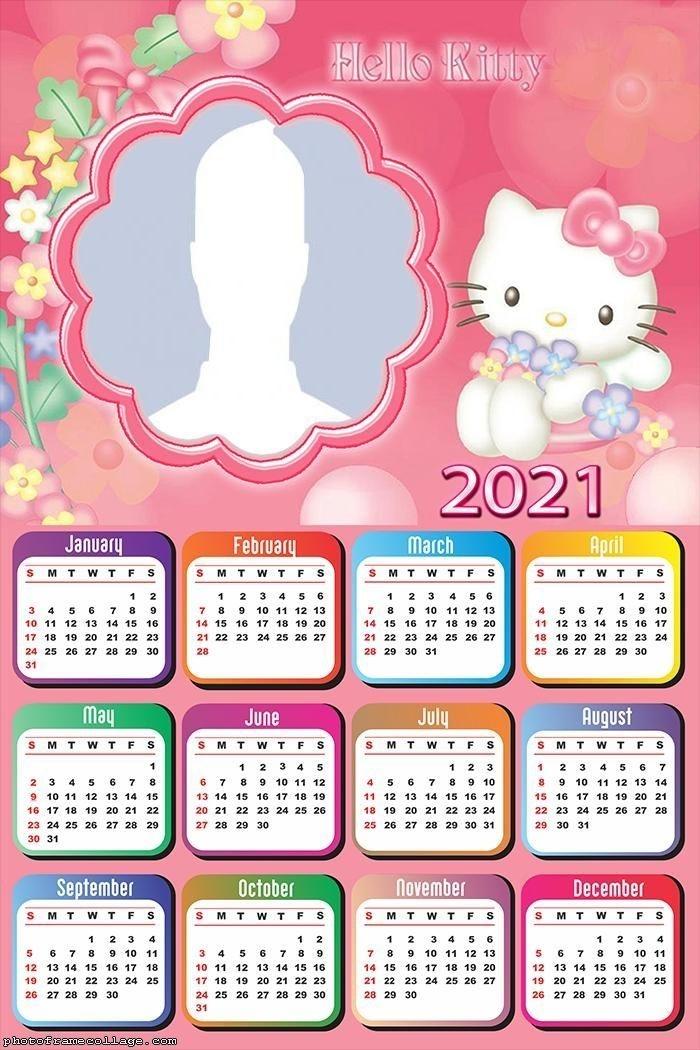 Hello Kitty Colouring Calendar 2021 | Hello Kitty Photos