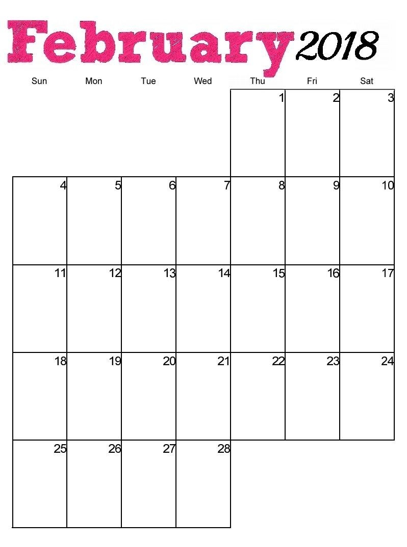 Printable Calendar With Lines | Ten Free Printable