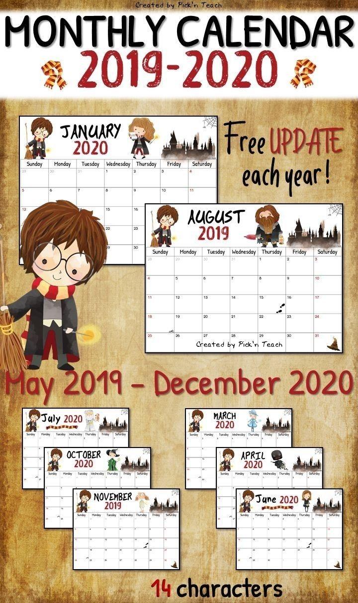 School Year Calendar 2020-20 Template   Calendar Template