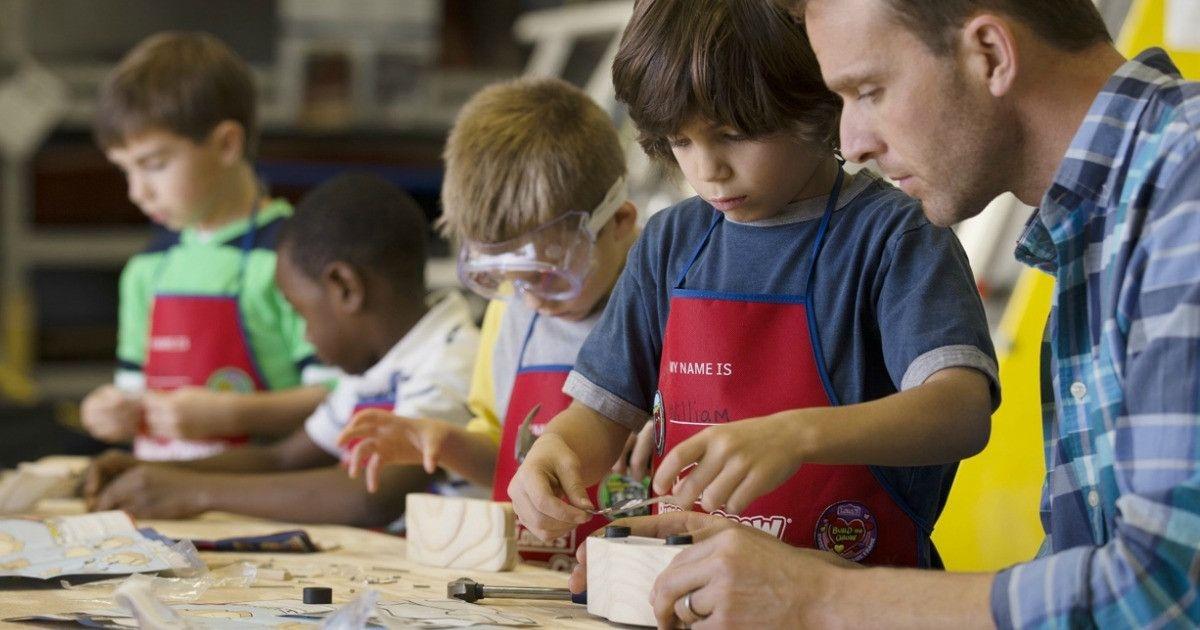They'Re Back! Free Lowe'S Diy Kids' Workshops: Tabletop