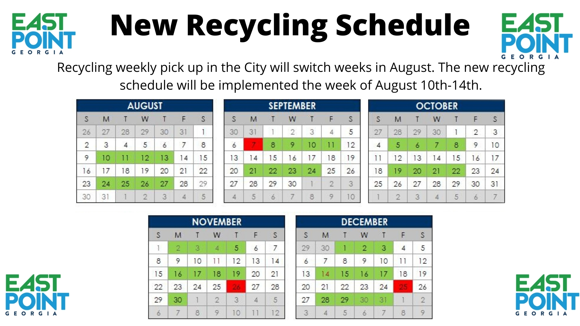 Universal Republic Services Calendar For Trash And