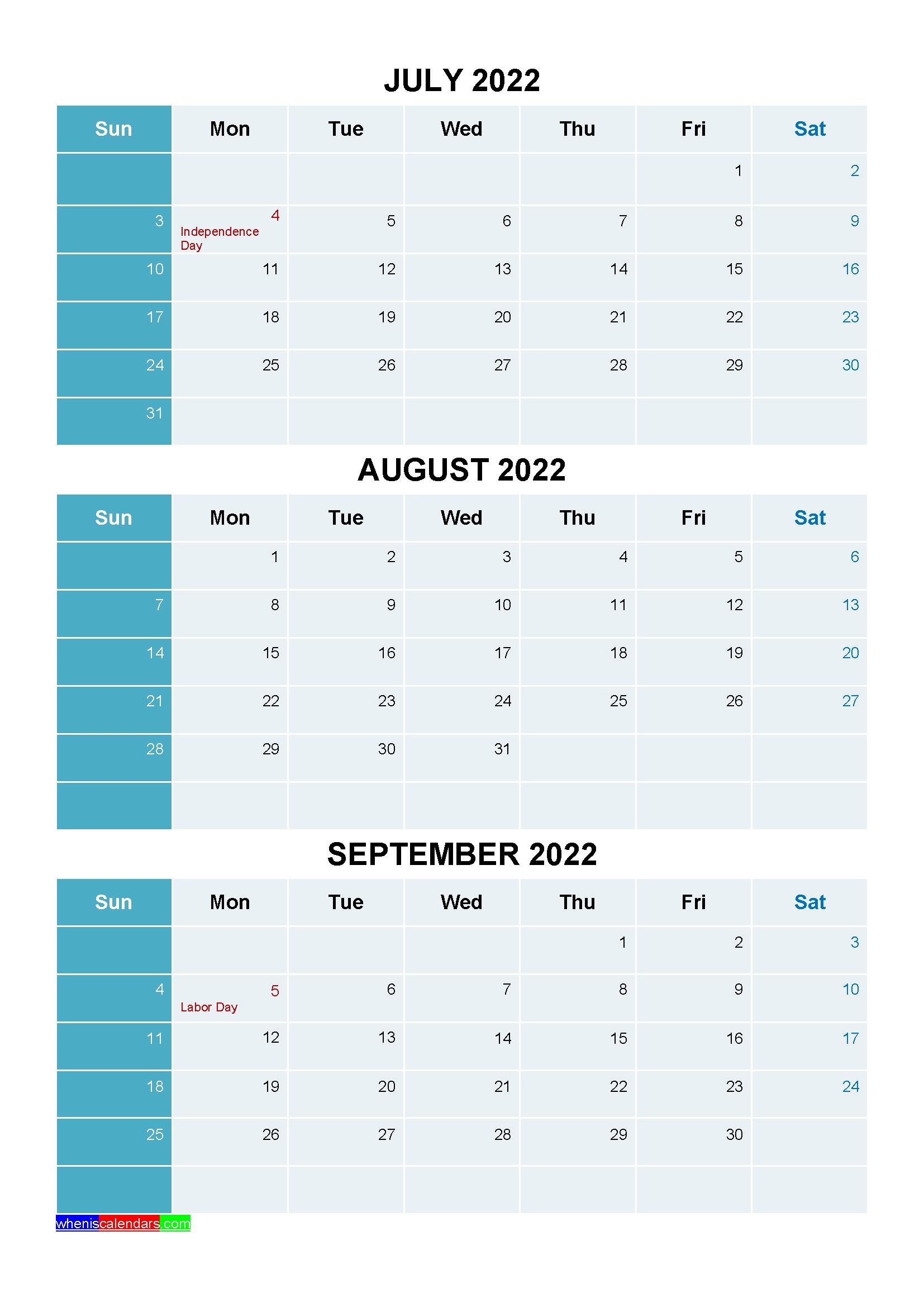 20+ Holidays For 2022 - Free Download Printable Calendar