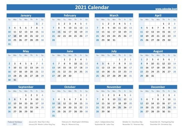 2020, 2021, 2022, 2023 Federal Holidays : List And