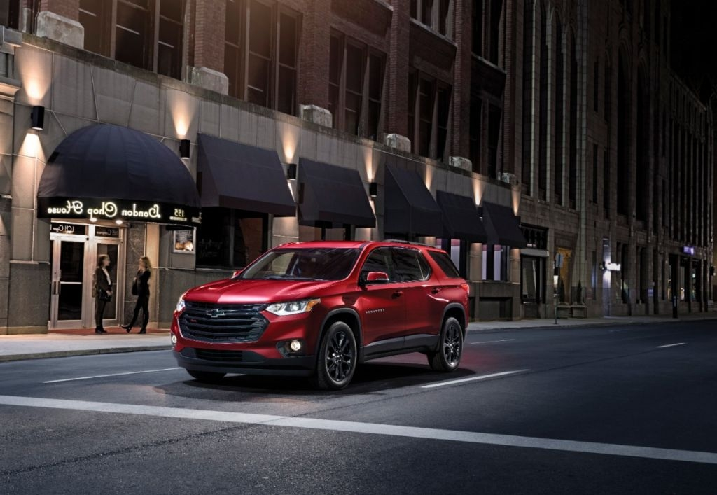 2021 Chevy Traverse Spy Photos   New Cars Coming Out