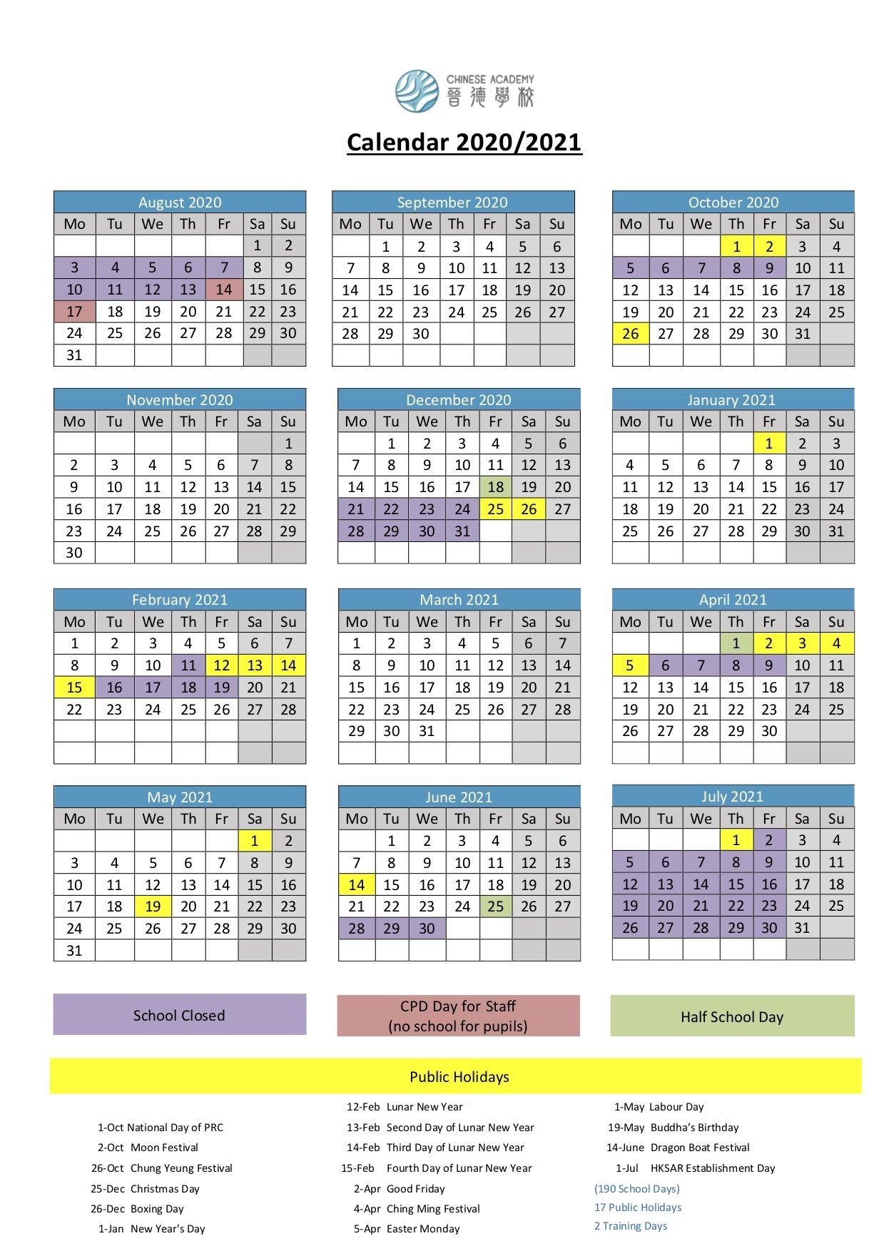 2021 Chinese Holidays_Chinese Holidays 2020_China Holiday