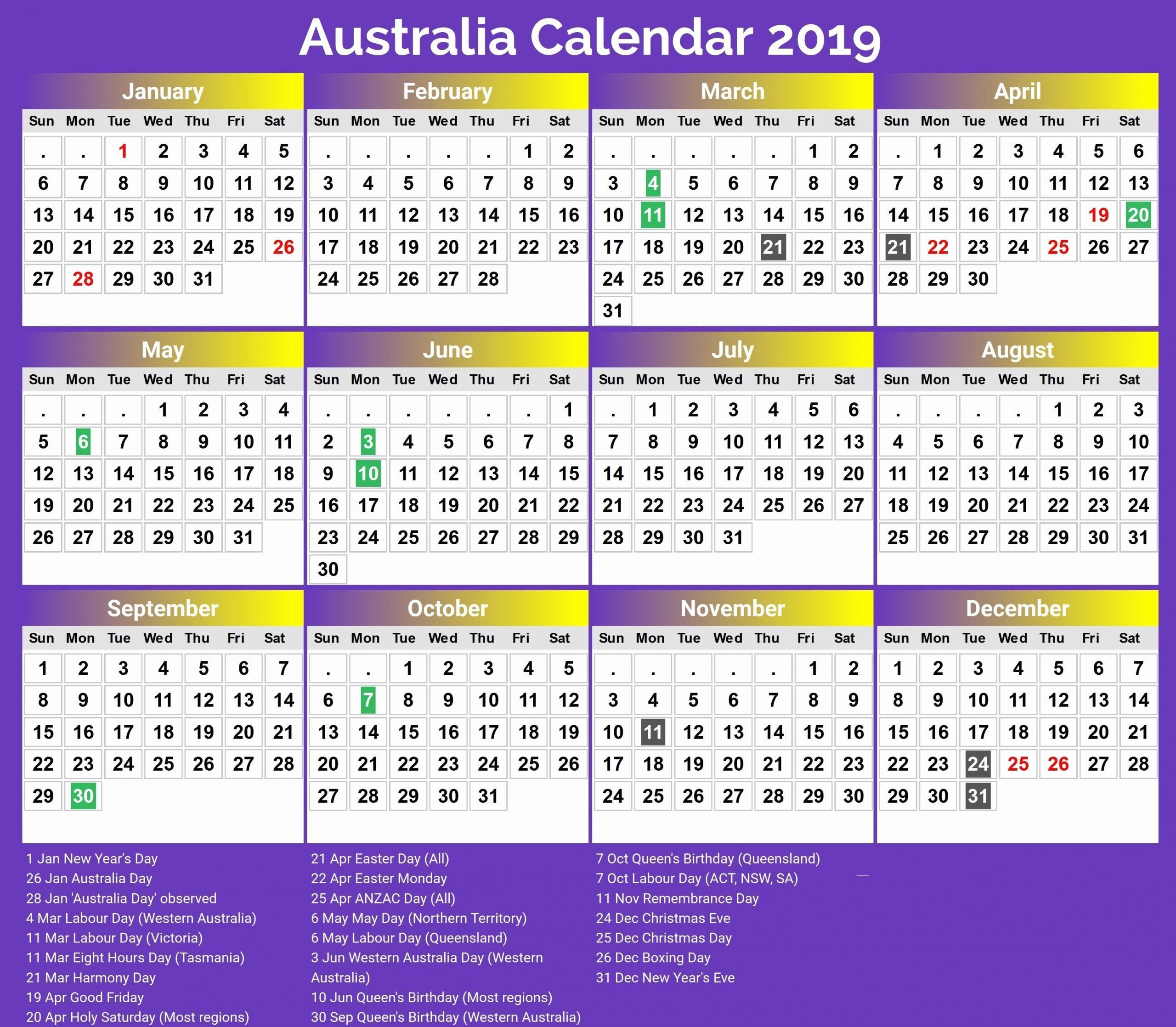 2021 Easter Dates Qld - Th2021