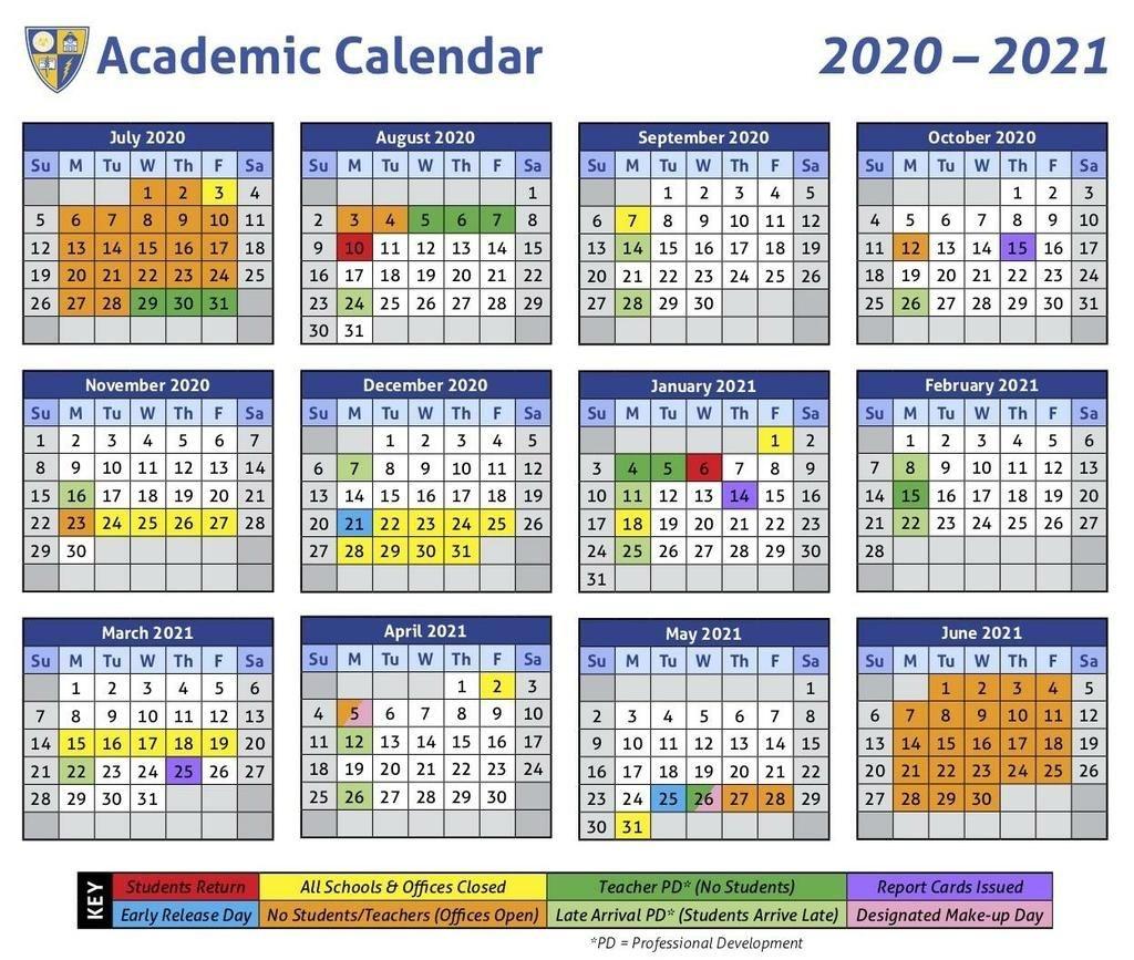 2021 School Calendar   Printable Calendars 2021