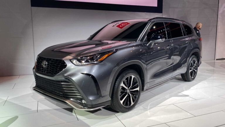 2021 Toyota Highlander Xse Price   New Cars Coming Out